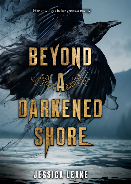 Cover Reveal for BEYOND A DARKENED SHORE